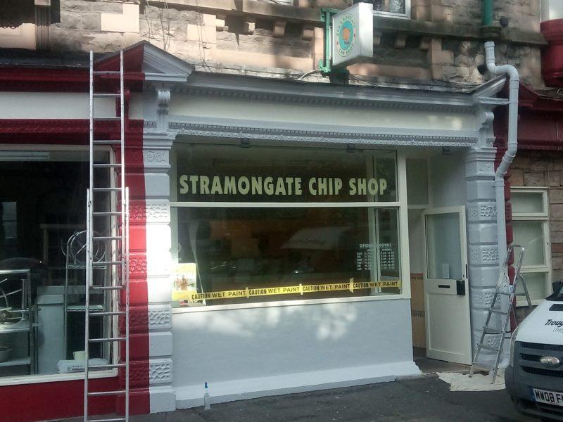 Stramongate Chip Shop